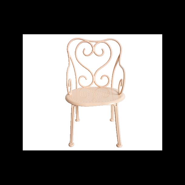 300cfc4ac34 Maileg Metal stol i hvid
